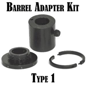 War Lock Barrel Adapter Kit: Type 1