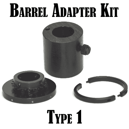 War Lock Barrel Adapter Kit: Type 1