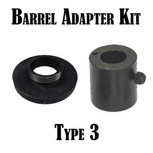 War Lock Barrel Adapter Kit: Type 3