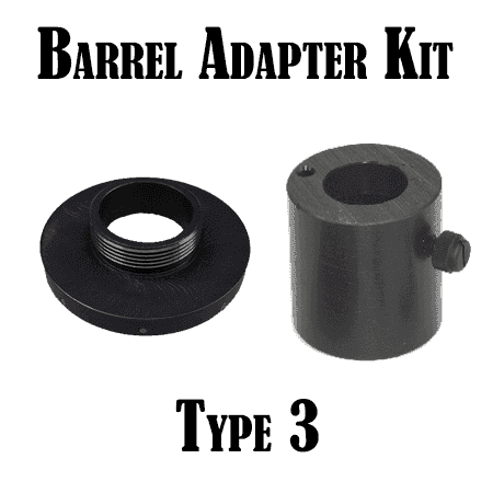War Lock Barrel Adapter Kit: Type 3